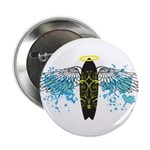 """Surf Angel: Tribe"" 2.25"" Button (100 pack)"