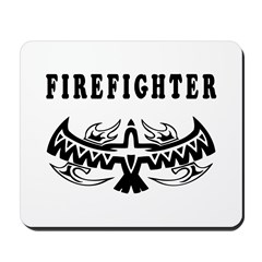 Firefighter Tattoos Mousepad