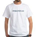 AbidjanTalk White T-Shirt