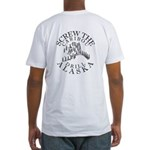 Screw Caribou Fitted T-Shirt