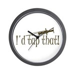 Funny Phlebotomy & Nursing Wall Clock