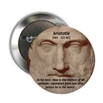"Greek Philosophers: Aristotle 2.25"" Button (10 pac"