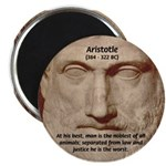"Greek Philosophers: Aristotle 2.25"" Magnet (10 pac"