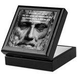 Greek Philosophy: Aristotle Keepsake Box