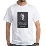 Irish Idealist: George Berkeley White T-Shirt