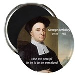 "Philosopher: George Berkeley 2.25"" Magnet (100 pac"