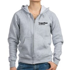 I Love Crystal Meth Womens Zip Hoodie