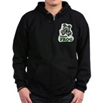 Uncle Frog's Pond Zip Hoodie (dark)