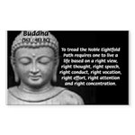 Gautama Siddhartha (Buddha) Rectangle Sticker