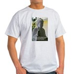 Eastern Philosophy: Buddha Ash Grey T-Shirt