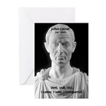 Great Roman: Julius Caesar Greeting Cards (Package