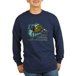 Couch Potato Jogging Long Sleeve Dark T-Shirt