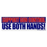 Support Gun Control Bumper Sticker