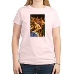 Death of Cleopatra Women's Pink T-Shirt