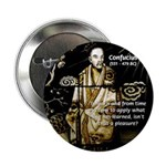 "Confucius 2.25"" Button (10 pack)"