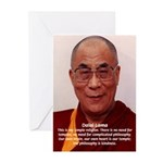 His Holiness the Dalai Lama Greeting Cards (Packag