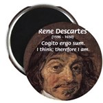 "Philosopher Rene Descartes 2.25"" Magnet (100 pack)"