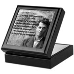 Ludwig Wittgenstein Keepsake Box