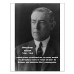 Woodrow Wilson Small Poster
