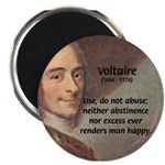 "French Philosopher: Voltaire 2.25"" Magnet (100 pac"