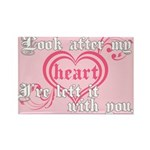 Twilight Valentine Heart Rectangle Magnet