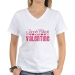 Jacob Twilight Valentine Women's V-Neck T-Shirt