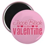 "Jacob Twilight Valentine 2.25"" Magnet (10 pack)"