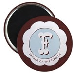 "Market Father of the Groom 2.25"" Magnet (10 pack)"