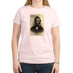 Henry David Thoreau Women's Pink T-Shirt