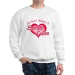 Emmett Cullen Heart Sweatshirt