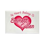 Emmett Cullen Heart Rectangle Magnet (100 pack)