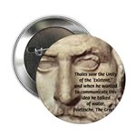 "Greek Philosophy: Thales 2.25"" Button (100 pack)"