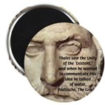 "Greek Philosophy: Thales 2.25"" Magnet (100 pack)"