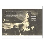 Rationalist Baruch Spinoza Small Poster