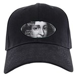 Philosopher Baruch Spinoza Black Cap