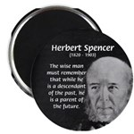 "Herbert Spencer 2.25"" Magnet (100 pack)"