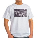 Death of Socrates Ash Grey T-Shirt