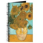 Van Gogh 12 Sunflowers Journal