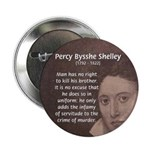 "Writer Percy Bysshe Shelley 2.25"" Button (100 pack"