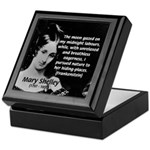 Mary Shelley Frankenstein Keepsake Box