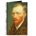 Van Gogh Self Portrait Journal