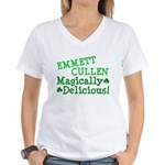 Emmett Magically Delicious Women's V-Neck T-Shirt