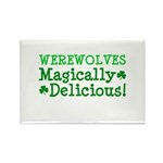 Werewolves Delicious Rectangle Magnet (10 pack)
