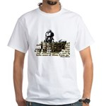 Jefferson Limits On Power Quo White T-Shirt