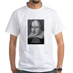 William Shakespeare White T-Shirt