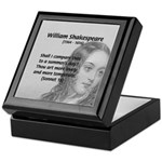 Shakespeare: Beauty of Juliet Keepsake Box