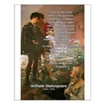 Hamlet Famous Soliloquy Small Poster