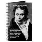 Arthur Schopenhauer Truth Journal