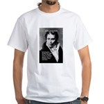 Arthur Schopenhauer Truth White T-Shirt
