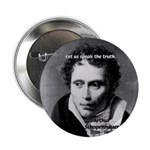"Schopenhauer Philosophy Truth 2.25"" Button (100 pa"